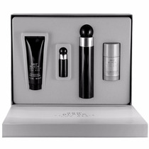 Set De 4 Piezas 360° Black De Perry Ellis 100 Ml