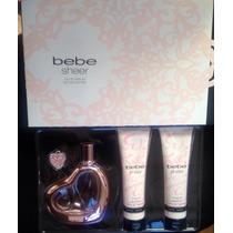 Perfume Bebe Sheer Set Ofertaa Original