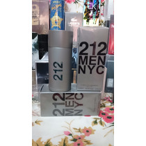 212 Men Carolina Herrera Hombre 100ml Edt Perfume Original