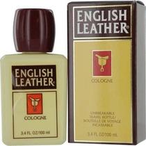 Perfumes Dana Inglés Leather Colonia Para Hombres, 3.4 Onza