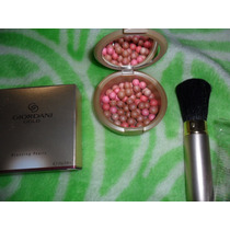 Oriflame Maquillaje Facial Perlas Bronceadoras Y Brocha