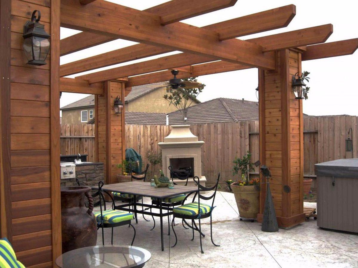 Pergolas techos madera dise o instalacion toldos en mercadolibre - Techos pergolas ...