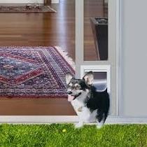 Puerta Modular Aluminio Ideal Pet Chica Perro Gato Casa