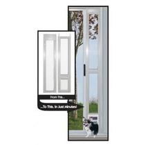 Puerta Modular Aluminio Ideal Pet Mediana Perro Gato Casa