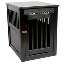 Crate Dinámico Acentos Mesa Auxiliar Para Mascotas - Pulido
