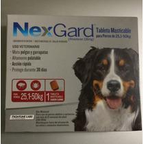 Nexgard Tabletas Masticables Desparasitante Externo