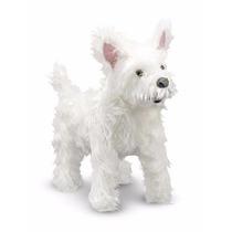 Perro Raza West Highland Terrier De Peluche Tamaño Real