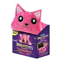 Ojos Brillantes Manta Por Kitten Snuggie Rosa