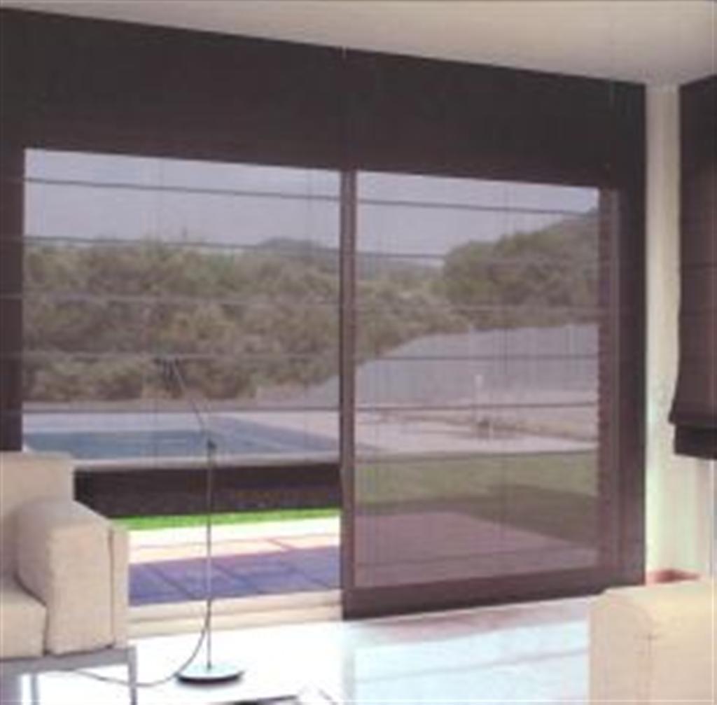 Persianas y cortinas enrollables panel romanas 599 m2 hm4 - Cortinas y persianas ...