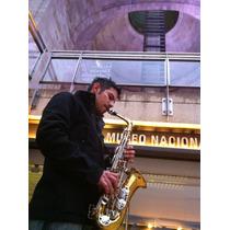 Saxofonista Evento Sax En Vivo Dj Audio Luz Sonido