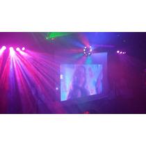 Dj Karaoke Luz Y Sonido Pantalla Batucada Cabina Iluminada