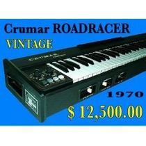 Piano Electrico Krumar Roadracer Vintage 1970