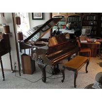 Piano De Cola Con Banca Hoffman Luis Xv