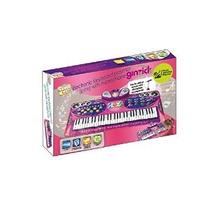 Ginzick Música Piano Playmat Teclado Electrónico Con Micrófo