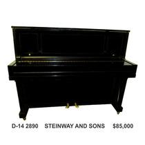 Steinway & Sons Vertical A Precio De Remate