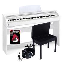 Casio Privia Px-750we Piano 88 Teclas + Accesorios Px-750