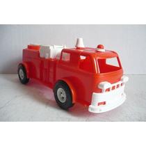 Camion De Bomberos - Camioncito De Juguete Escala