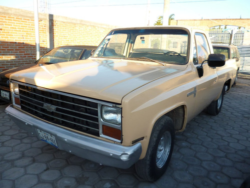 Pickup Chevrolet 1986 6 Cilindros Estandar