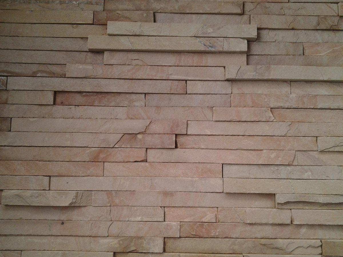 Piedra laja de cantera para fachada cascada salmon en mercadolibre - Precio de piedra para fachada ...
