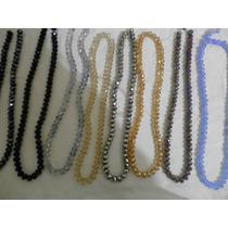 Piedra Cristal Tira Variedad De Colores Para Pulseras Rosari