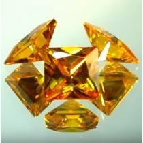 3 Preciosos Diamantes Canario Princess 16.5cts. Envío Gratis