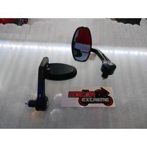 Espejos Para Motocicleta Street Fighter 100% Aluminio