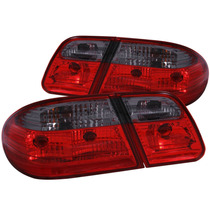 Mbz E Class W210 00-02 T.l G2 Red/smoke (w/o Led)