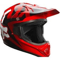 Casco Fox Vf-1 Rojo 2015 Moto !! Talla Xl