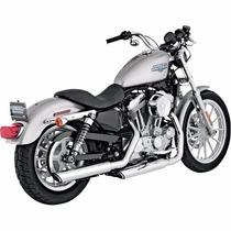 Escapes Slip-on Vance & Hines Para Harley Davidson 2004 2013
