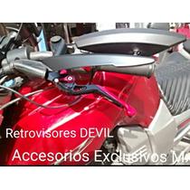 Retrovisores Espejos Deportivos Motocicleta Street Fighter