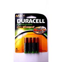 Bateria Recargable Aaa Duracell 800mah Blakhelmet E