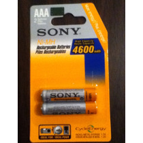 Pilas Recargables Sony 5000 Mha Doble A Originales