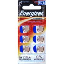 Pila Auditiva Ac675 Energizer Con 6 Pilas