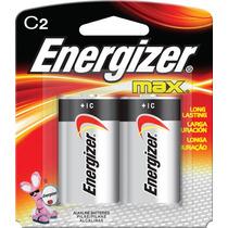 Pila Energizer Tamaño C Con 2 Pilas Alkalina