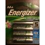 Baterias Recargables Aa (4) Energizer Recharge Plus Nuevas!!