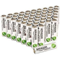 Amazonbasics Rendimiento Alcalinas Aa Baterías (48-pack)