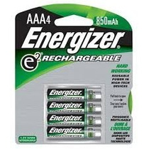 Bateria Energizer Recargable Aaa 850 Mah 4 Pack Blister Nimh