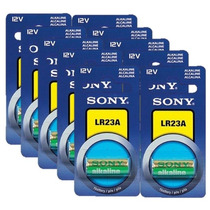 Paq.10 Pilas Lr23a Sony Lr-23a 12v Bateria Alcalina