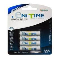 Baterías Gs Yuasa Enitime Paquete De 4 Aaa Ni-mh Recargables