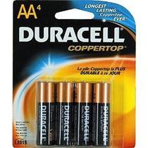 Duracell Batteries / 4 Aa - Pilas De Tamaño