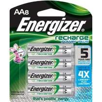 Baterías Energizer Power Plus Nimh Aa Recargables 8-count (2