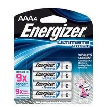 Baterías De Litio Energizer Por Último (aaa) Paquete De 4
