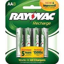 Rayovac Recarga Recargable 1350 Mah Nimh Aa Pre-charged Bate