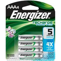 Energizer Recharge Power Plus Aaa 700 Mah Baterías Recargabl