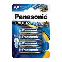 3 Paquetes Pilas Panasonic Evolta Aa C/4 Lr6egl/4b