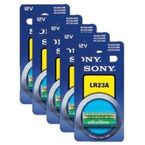 Paq.5 Pilas Lr23a Sony Lr-23a 12v Bateria Alcalina