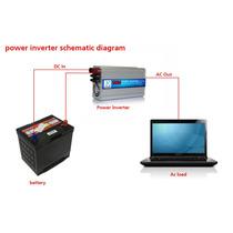 Inversor De Corriente 1000/2000w Watt Power Inverter Charger