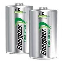 Pilas Recargables Energizer D2 Mah Nuevas En Blister