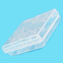 Foto Video Caja Plastica P/4 Baterias Aaa O Aa Nimh Alkalina