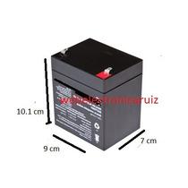 Bateria Recargable De 12 Volt 4 Amperes Para Carrito / Moto